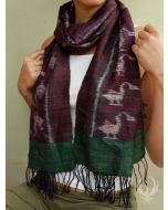 Back to Earth Silk Scarf