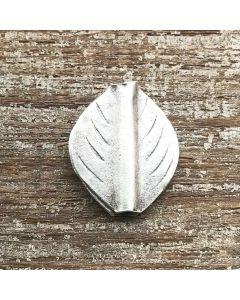 Fine Hill Tribe Silver Leaf Bead