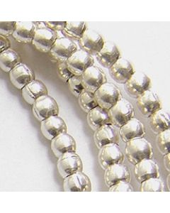 Hill Tribe Silver Mini Round Beads Strand