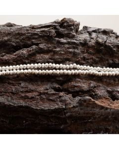 Fine Hill tribe Silver Mini Round Beads Strands