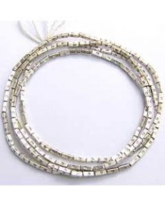 PRINTED RECTANGLE SHAPED BEADS STRAND