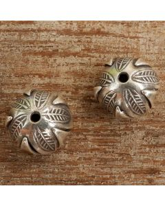 Hill Tribe Silver Leaf Secret Gift Bead