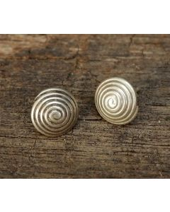 Lette Earrings, Fine Karen Silver