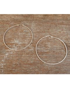 Gemini Earrings, Fine Karen Silver
