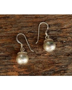 Yumi Earrings, Fine Karen Silver