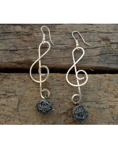 Yasu Earrings, Fine Sterling Silver