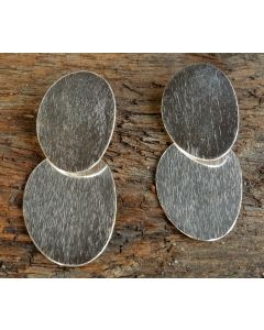 Vanita Earrings, Fine Sterling Silver