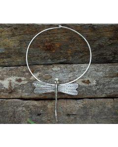 Athea Necklace, Fine Karen Silver, Peridot Swarovski Crystals