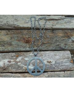 Roxy Necklace, Oxidized Fine Karen Silver