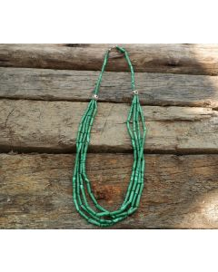 Malachite Necklace, Malachite, Karen Silver