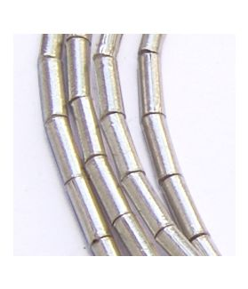 Hill Tribe Silver tube Beads Strands