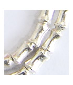 Hill Tribe Silver Bead Strand