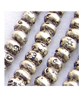 Fine Hill tribe silver Mini Seed Inspired Beads Strand