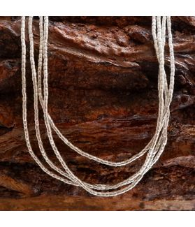 Long Rugged Tube Shaped Beads Strand (ex. Code: KBD146)