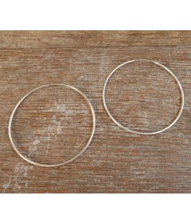 Evika Earrings, Fine Karen Silver