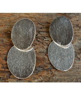 Vanita Earrings, Fine Sterling Silver