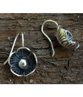 Bopha Earrings, Fine Karen Silver