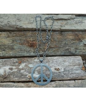 Roxy Necklace, Oxidized Fine Karen Silver