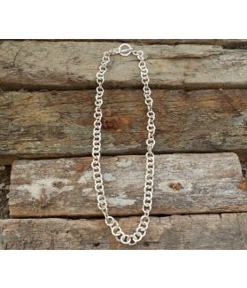 Alexis Necklace, Fine Karen Silver