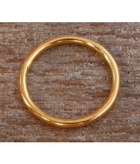 Vanna Ring, 24-Karats Gold Plated Fine Karen Silver