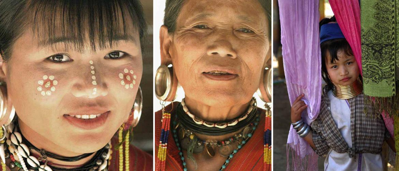 Karen Hill tribes in Northern Thailand