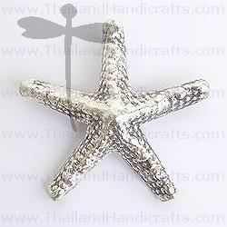Fine Hill Tribe Silver Starfish Pendant